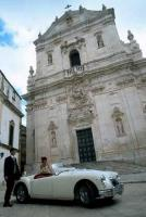A romantic place for a European wedding is in the Italian region of Apulia in Italy.