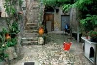 Old Backyard Matera Italy