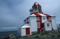 The Bonavista Lighthouse is located on Cape Bonavista of Newfoundland