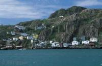 Photo of the Battery in St. Johns Newfoundland, the oldest city in North America