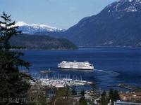 The Horseshoe Bay BC Ferries Terminal north of Vancouver