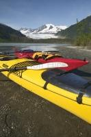 During an independent or cruise vacation or in Juneau try the kayak rentals on the Mendenham Lake to the Glacier and waterfall.