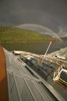 inside passage rainbow