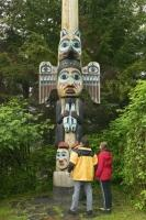 Not to miss on a alaska vacation is the Totem Bight State Park