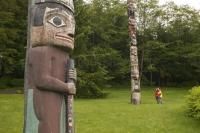 Situated in Ketchikan, Alaska the Totem Bight State Historic Site is a Native American treasure with symbols of their life and culture.
