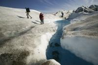 During a cruise vacation to the glaciers Alaska take a heli walk to the Taku Glacier near Juneau