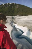 Take a tour on the Taku Glacier near Juneau during a cruise vacation in Alaska.