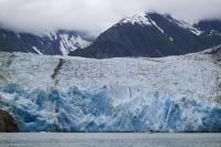 Nature Photo of North Sawyer Glacier near Juneau in south east Alaska.