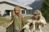 Native american dancers in Haines, Alaska