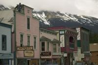 The historic town of Skagway is a popular destination on the Alaska Marine Highway route.
