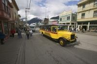 Many of the Alaska Glacier cruises stop off in the historic gold rush town of Skagway where cruise passengers can embark on tours.
