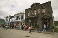 Buildings Downtown Skagway Alaska