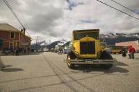 Stock Photo of Street Cars in Skagway, Alaska