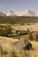 The beautiful and diverse Alberta landscape in Canada ranges from the rugged Rocky Mountains to prairie lands.