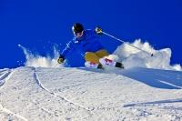 Alpine Skiing Whistler Mountain British Columbia Canada