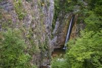 Alpine Waterfall Luceram France