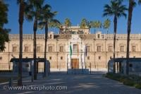 Andalusia Parliament Building Sevilla City Spain