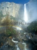 Photo of the bridal Falls in Yosemite National Park, California