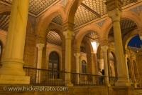 Architectural Design Central Building Plaza De Espana Andalusia Sevilla