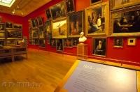 A collection of famous art pieces on display at the Art of Gallery of Ontario in Toronto, Canada.