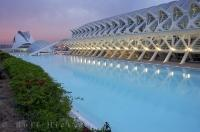 City Of The Arts And Science Complex Valencia Spain