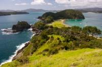 One of many New Zealand attractions can be found at a famous vacation spot, the Bay of Islands, located off the North Island of New Zealand.