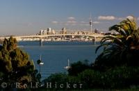 Auckland Harbour Bridge New Zealand