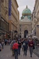 Vacations are a good way for people to get a lot more walking in as strolling through the downtown core of Vienna, Austria makes seeing the sights more enjoyable.