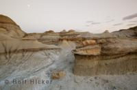 A great example of badlands is in Dinosaur Provincial Park in Alberta, Canada
