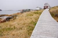 Battle Harbour Waterfront Boardwalk Southern Labrador