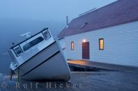 Historic Battle Harbour Fishing Boat Labrador