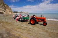 Trips with Gannet Beach Adventures is an interesting way to explore Hawkes Bay on the North Island of New Zealand.