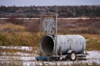 Bear Trap Old Dump Churchill Manitoba Canada