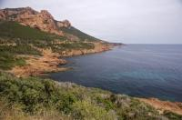Beautiful French Coastline Mediterranean Sea Massif De L Esterel