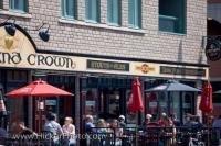 Cafe Patrons Byward Market Ottawa Ontario