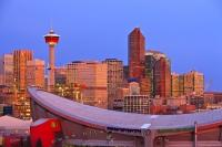 Calgary Tower Saddledome Stadium