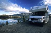 Kluane Lake is a great place for camping and fishing during a vacation in the Yukon Territory of Canada.