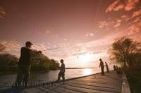 One of the great Canada recreations is fishing and Lake Simcoe is a great place to visit in Ontario.