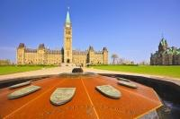 Canadian Government Parliament Hill Ontario Canada