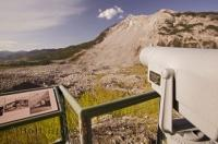 The Frank Slide is a prominent part of Canadian history and is listed as one of the largest North American landslides.
