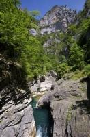 The Rio Bellos is a river that flows southward through the Anisclo Canyon in Huesca, Aragon in Spain.