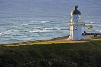 Cape Reinga Lighthouse Scenery New Zealand