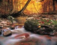 Autumn on Cape Breton Highland National Park in Nova Scotia, an great vacation destination