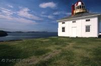 The Cape Spear Lighthouse situated near St John's in Newfoundland has been restored to its original appearance.