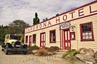 The old Cardrona Hotel is one of the oldest historic hotels in New Zealand and still offers quality accommodation in Central Otago, New Zealand.