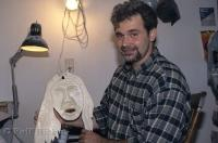 Shawn Rumbolt is a carver in St Anthony, Newfoundland, Canada.