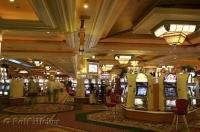 Inside one of the many casinos in Las Vegas, Nevada, USA.
