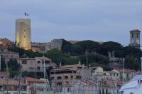 The Castle of Cannes on the French Riviera in Provence, France is now the home of the Castre Museum, located in the Castre Tower.