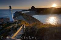 Castlepoint Lighthouse Scenery Wairarapa NZ