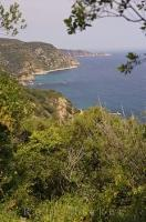 Beaches extend for miles along the rugged coastline of the Costa Brava in Catalonia, Spain.